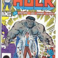 The Incredible Hulk, V1, 324. NM+.  Oct 1986.  Marvel Comics