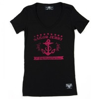 Womens Bad Butterfly Graphic T-Shirt - Sailor Jerry Clothing