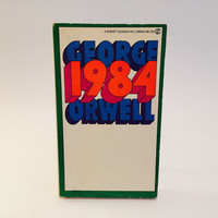 1984 by George Orwell 1970's Edition Paperback