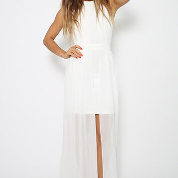 Egyptian Goddess Dress - White