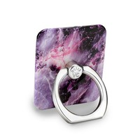 Purple Stone Marble Phone Ring