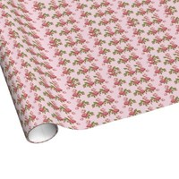 Sugar of Rose Gift Wrapping Paper