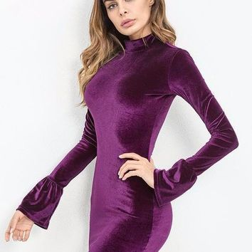 PURPLE REIGN DRESS