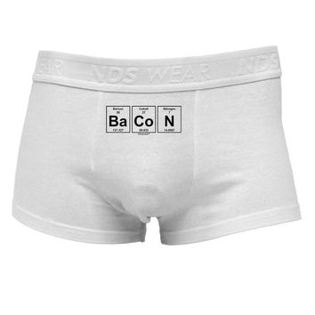 Bacon Periodic Table of ElementsMens Cotton Trunk Underwear by TooLoud