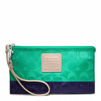 legacy weekend colorblock nylon zippy wallet