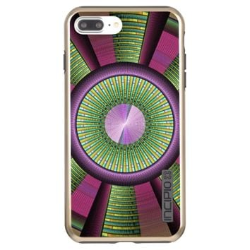 Round And Colorful Modern Decorative Fractal Art Incipio DualPro Shine iPhone 7 Plus Case