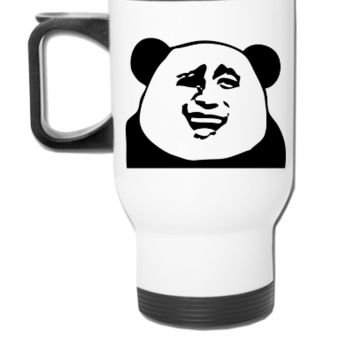 funny dictator - Travel Mug