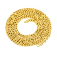 Hot Necklace Europe and America Necklace Gold Silver Fashion Jewelry For Men 5mm Snake Bone