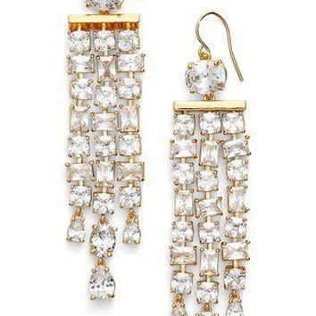 Lauren Ralph Lauren Linear Chandelier Earrings | Nordstrom