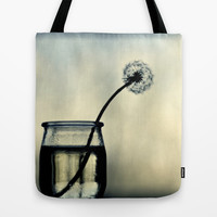 dandelion Tote Bag by ingz