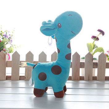 2 Size 1 PC Unisex Baby Kid Cute Plush Giraffe Soft Toy Animal