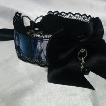 Corpse Bride, Pet Play Collar.