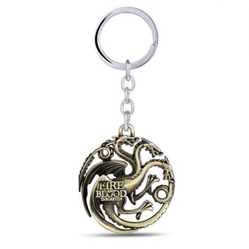 Daenerys Targaryen Badge Dragon Alloy