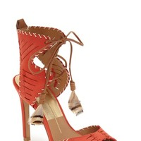 Dolce Vita 'Hunter' Woven Feather Sandal (Women) | Nordstrom