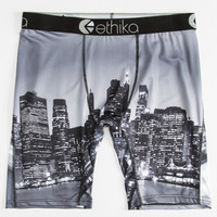 Ethika City Vintage The Staple Boxer Briefs Black/White  In Sizes