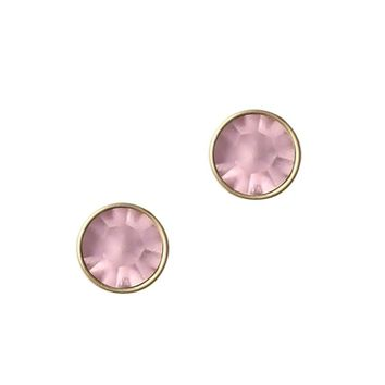 ROSALIE STUDS IN ORCHID