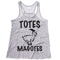 Totes Magotes Womens Flowy Tank