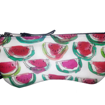 Watermelon Sunglasses Zip Case