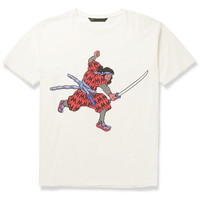 Marc by Marc Jacobs - Printed Cotton-Jersey T-Shirt   MR PORTER