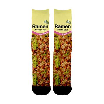Shrimp Ramen Socks