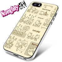 Hello Kitty Activity iPhone 4s iphone 5 iphone 5s iphone 6 case, Samsung s3 samsung s4 samsung s5 note 3 note 4 case, iPod 4 5 Case