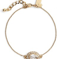 Women's kate spade new york 'sweet sparkle' station bracelet - Clear/