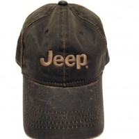 Bronze Weathered Jeep Cotton Twill Hat | Hats & Caps | Jeep Apparel | My Jeep Accessories