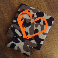 Hunting fishing camo cozy hugger cuff
