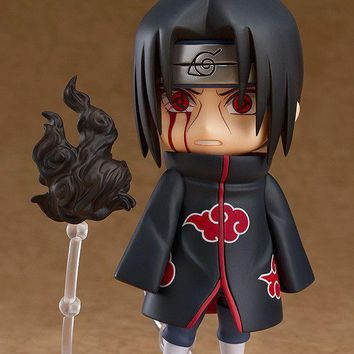 Naruto Sasauke ninja Action Figure  Uchiha Itachi Cute Anime Model Cartoon Doll PVC 10cm Japanese Figurine for Collection 180115 AT_81_8