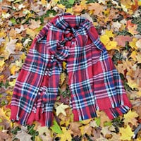 The Blanket Scarf - Red