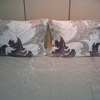 DaDa Bedding Real Leaves Cotton Fitted Sheet Set Queen 3 Pieces
