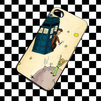 Doctor Who and The Little Prince iPhone 4, iPhone 4S, iPhone 5, Samsung Galaxy S3, Samsung Galaxy S4 Case