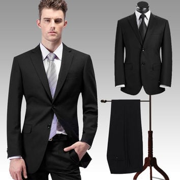 Men's Suits Two piece Professional business and leisure Amazing suit