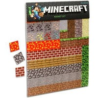 1 X Minecraft Sheet Magnets