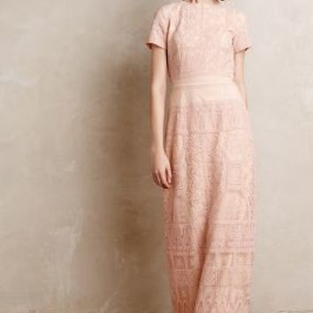 Amelia Gown by Korovilas Peach