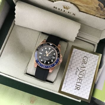 cc hcxx Gmt master II black and blue