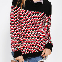 Urban Outfitters - Love Madly Mod Intarsia Sweater