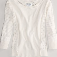 AEO Women's Pointelle Sweater