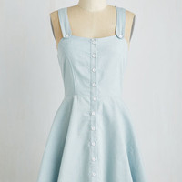 Mid-length Sleeveless A-line Adorable Antics Dress