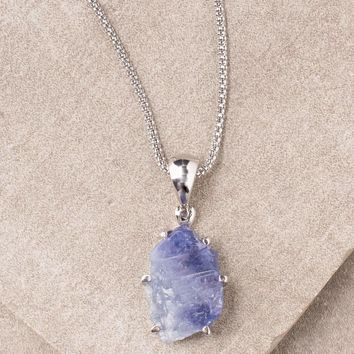 Tanzanite Necklace - One Of A Kind