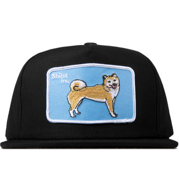 DOG LTD. Black Shiba Inu Cap | HYPEBEAST Store. Shop Online for Men's Fashion, Streetwear, Sneakers, Accessories