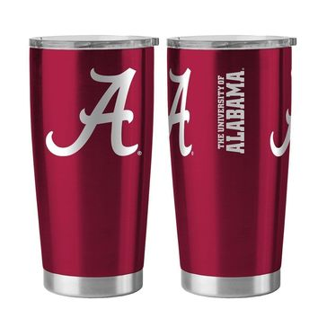 Alabama Crimson Tide 20 oz. Stainless Steel Insulated Ultra Travel Tumbler