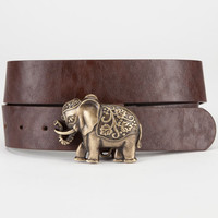 Elephant Belt Brown  In Sizes