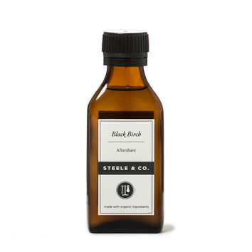 Steele & Co - Black Birch Aftershave