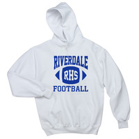 "Riverdale ""RHS Football"" Unisex Adult Hoodie Sweatshirt"