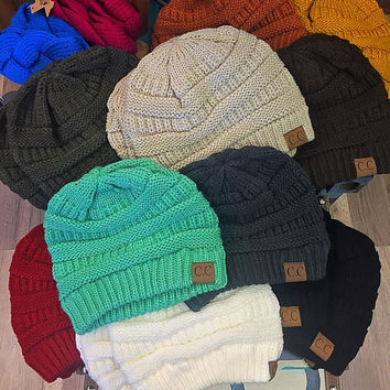 The Cable Knit Beanie