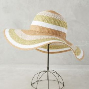 Beryl Sun Hat by Anthropologie in White Size: One Size Hats