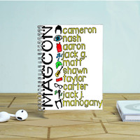 Taylor Caniff Magcon Photo Notebook Auroid