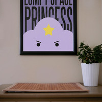 Adventure Time / Lumpy Space Princess / Poster by UrbanDinosaur