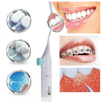 Strong Teeth Beautiful Smile Power Floss Water Pick